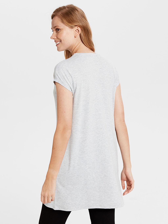 Kadın Düz Basic Tunik