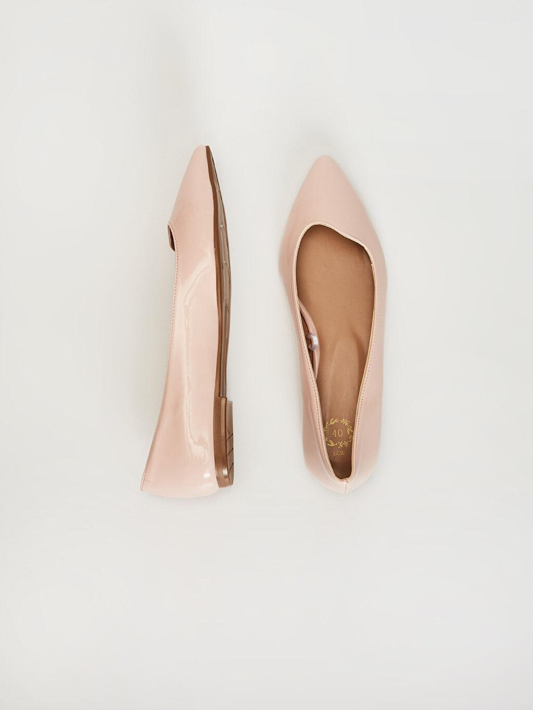 Diğer malzeme (poliüretan) Diğer malzeme (poliüretan)  Kadın Rugan Babet Ayakkabı