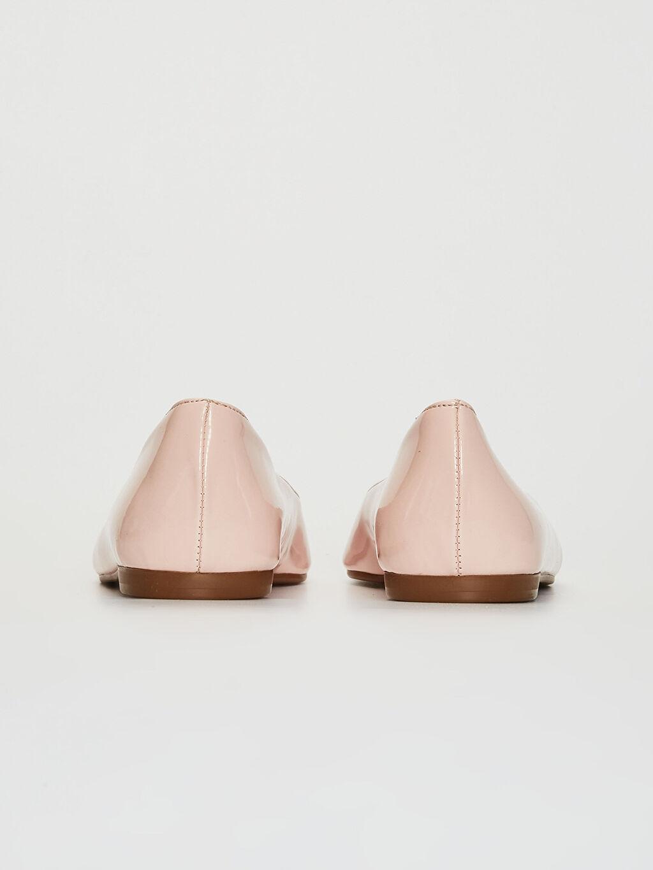 Kadın Rugan Babet Ayakkabı