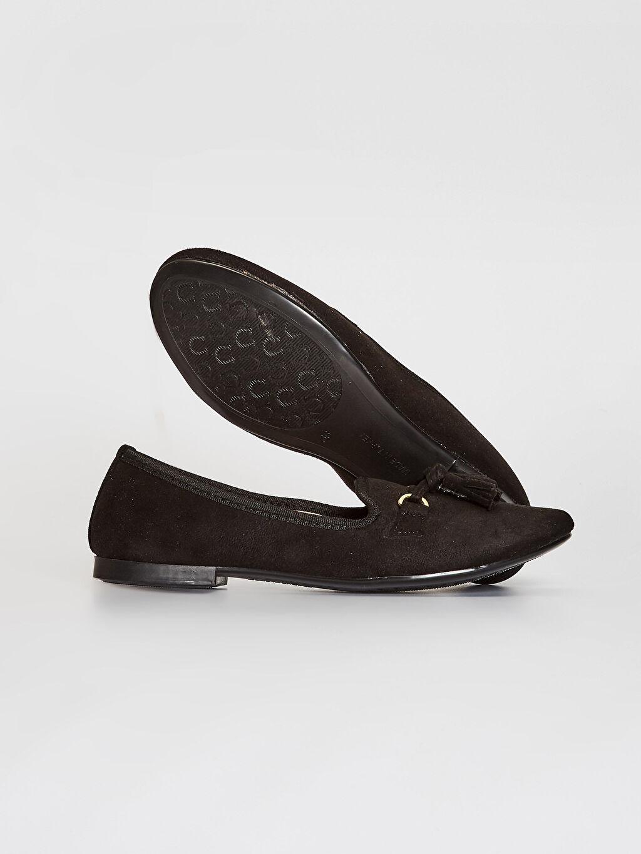 Kadın Kadın Püskül Detaylı Babet Ayakkabı