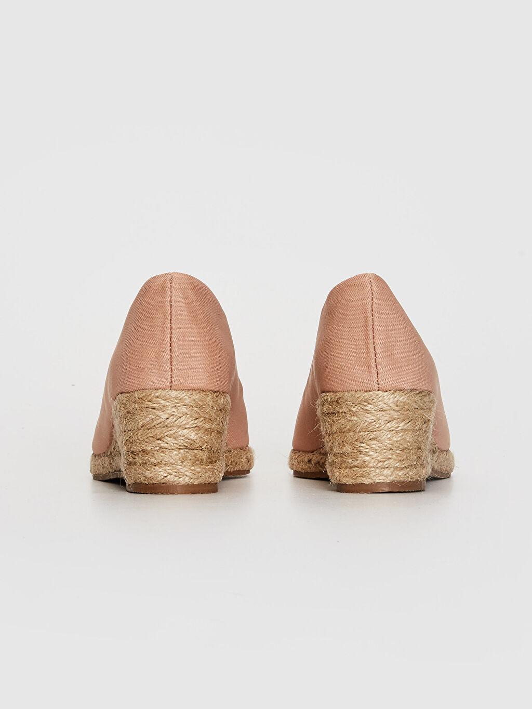 Kadın Hasır Dolgu Topuk Sandalet