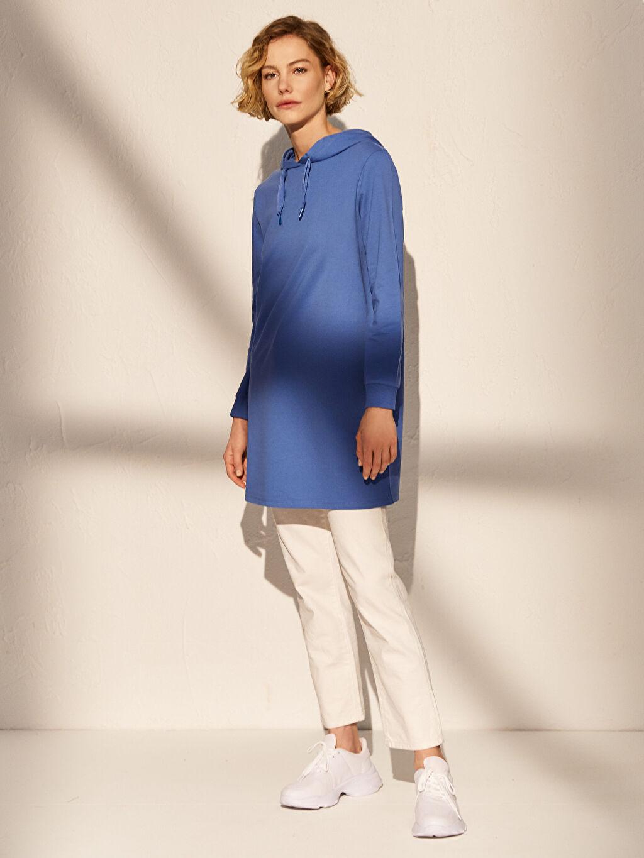 Kadın Kapüşonlu Salaş Sweatshirt