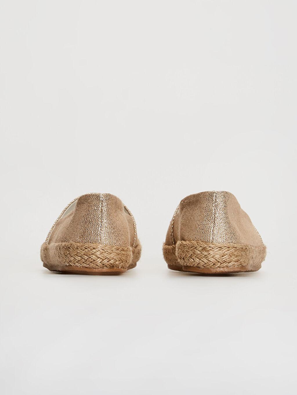 Kadın Espadril Babet Ayakkabı