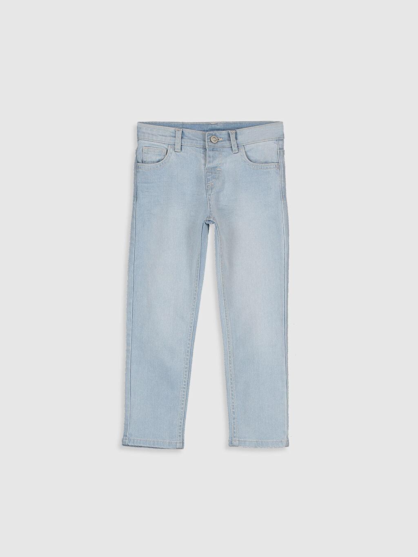 İndigo Erkek Çocuk Slim Jean Pantolon 0S0500Z4 LC Waikiki
