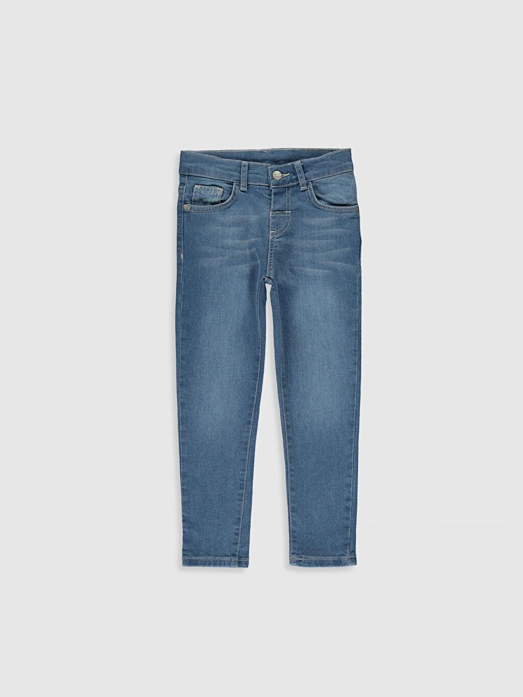 İndigo Erkek Çocuk Skinny Jean Pantolon 0S0507Z4 LC Waikiki