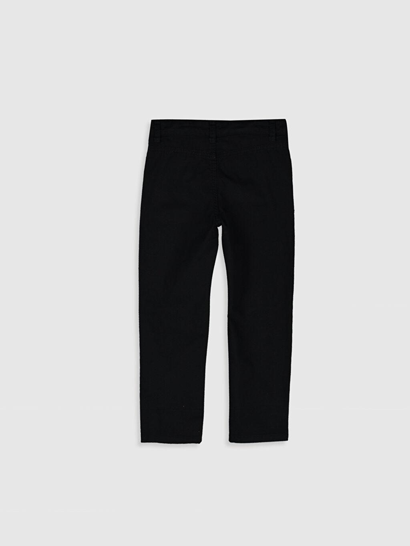 %100 Pamuk Standart Normal Bel Erkek Çocuk Gabardin Pantolon