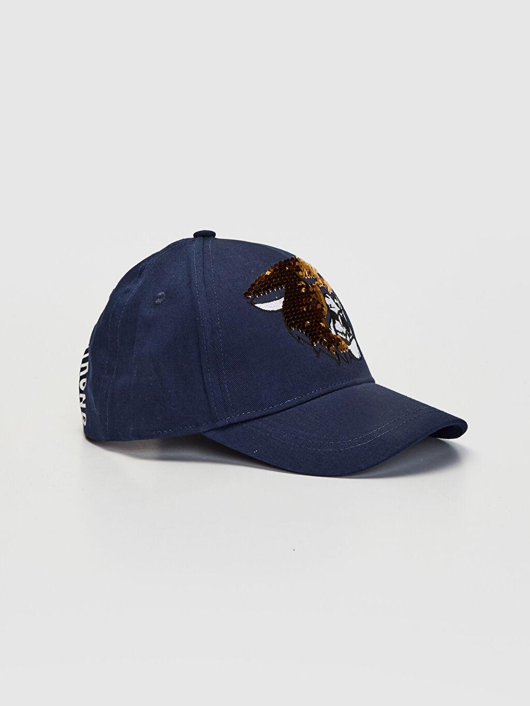 Erkek Çocuk Erkek Çocuk Çift Taraflı Pul Payetli Şapka