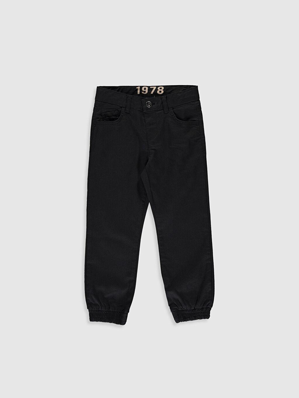 Antrasit Erkek Çocuk Jogger Pantolon 0S0987Z4 LC Waikiki