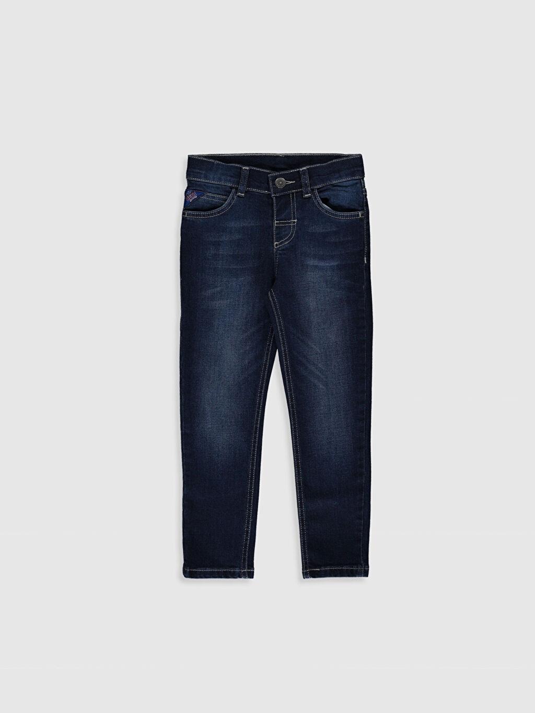 İndigo Erkek Çocuk Skinny Jean Pantolon 0S1109Z4 LC Waikiki