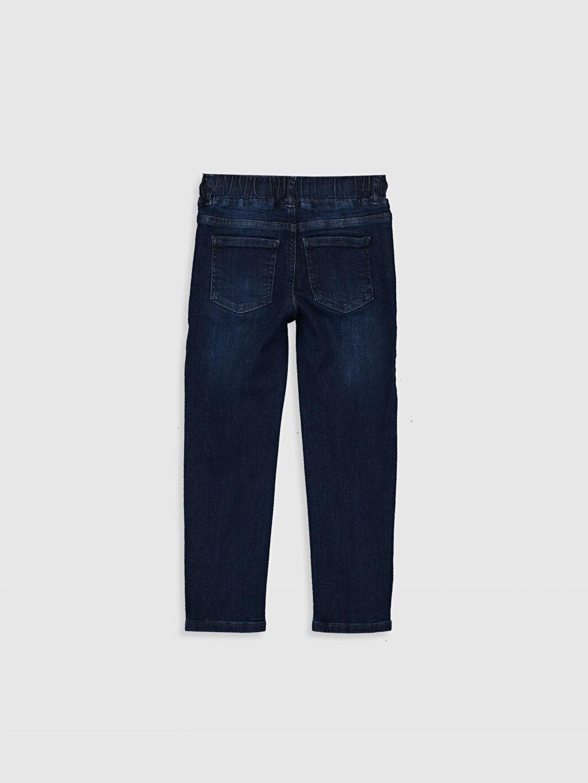 %98 Pamuk %2 Elastan Normal Bel Standart Erkek Çocuk Jean Pantolon