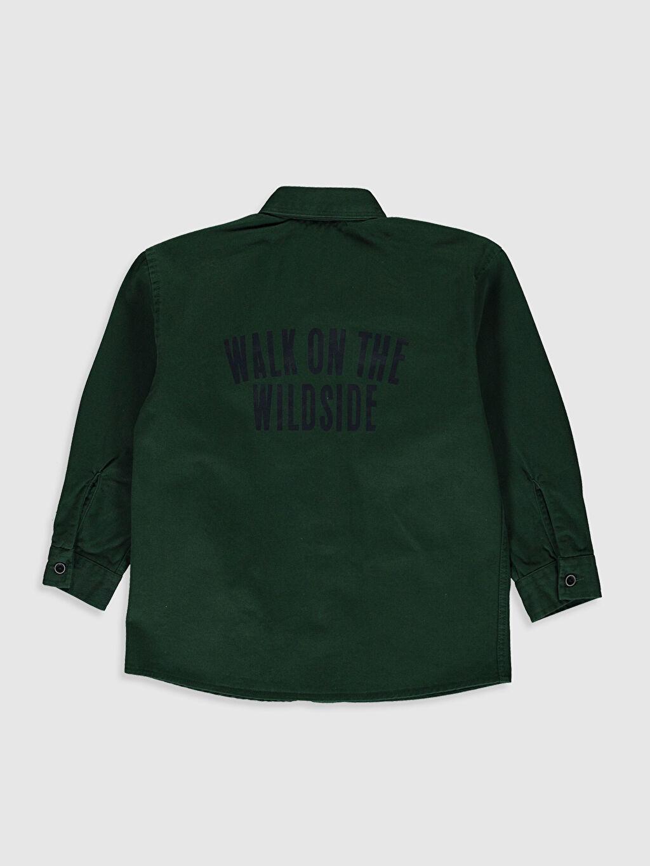%100 Pamuk Düz Standart Uzun Kol Erkek Çocuk Uzun Kollu Twill Gömlek
