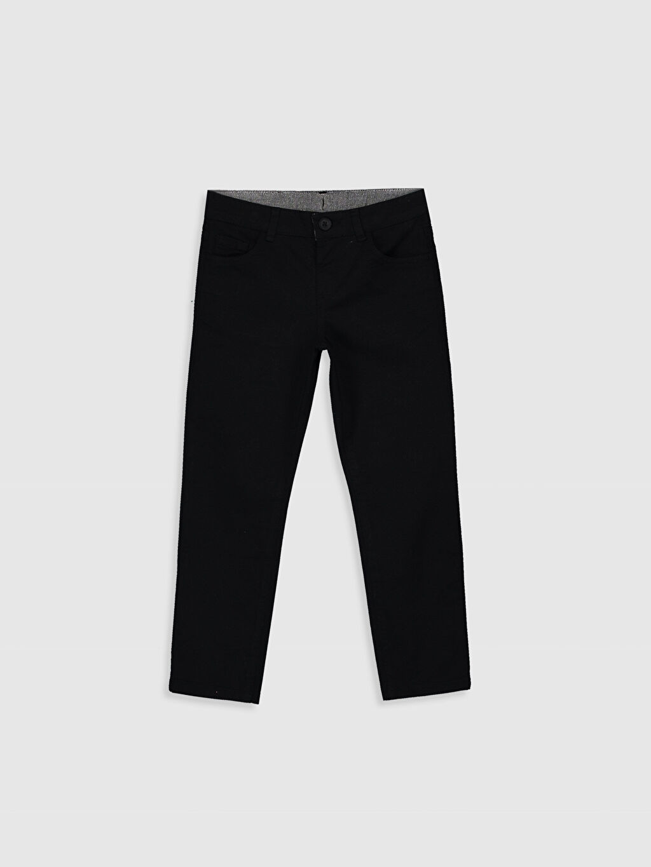 Siyah Erkek Çocuk Pantolon 0S1607Z4 LC Waikiki