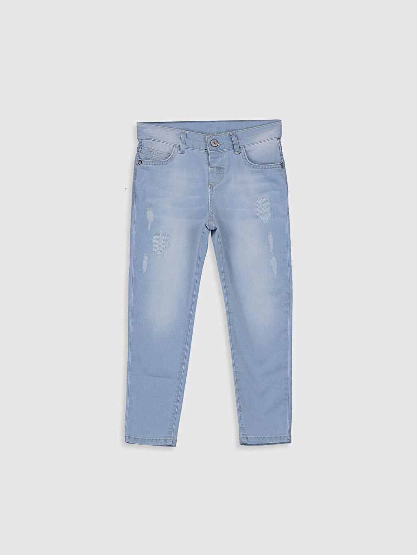 İndigo Erkek Çocuk Skinny Jean Pantolon 0S1753Z4 LC Waikiki