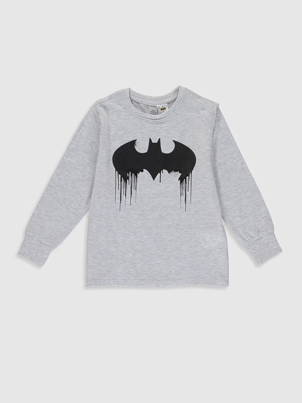 Erkek Çocuk Erkek Çocuk Batman Baskılı Pijama Takımı