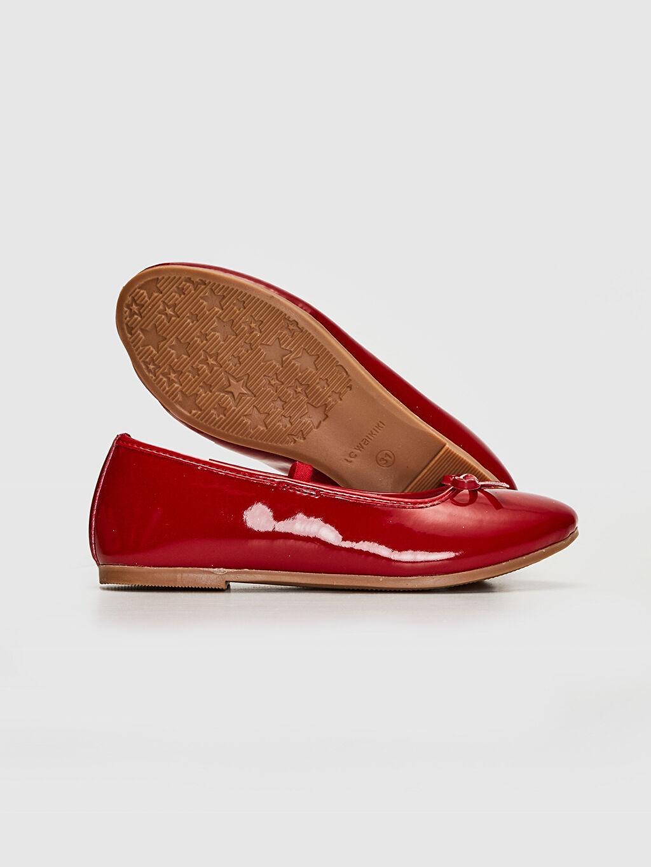 Kız Çocuk 23 Nisan Kız Çocuk 25-30 Numara Babet Ayakkabı