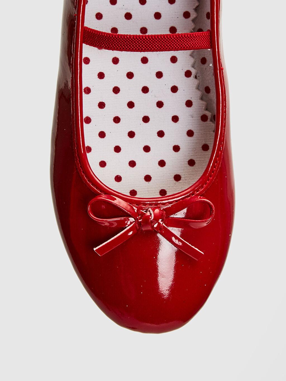 LC Waikiki Kırmızı 23 Nisan Kız Çocuk 25-30 Numara Babet Ayakkabı
