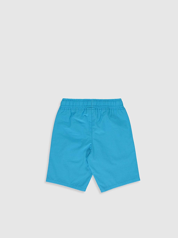 %100 Pamuk Şort Erkek Çocuk Pamuklu Bermuda