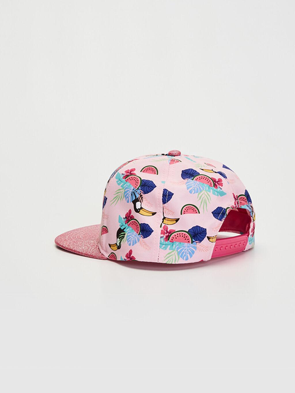Kız Çocuk Kız Çocuk Baskılı Hip Hop Şapka