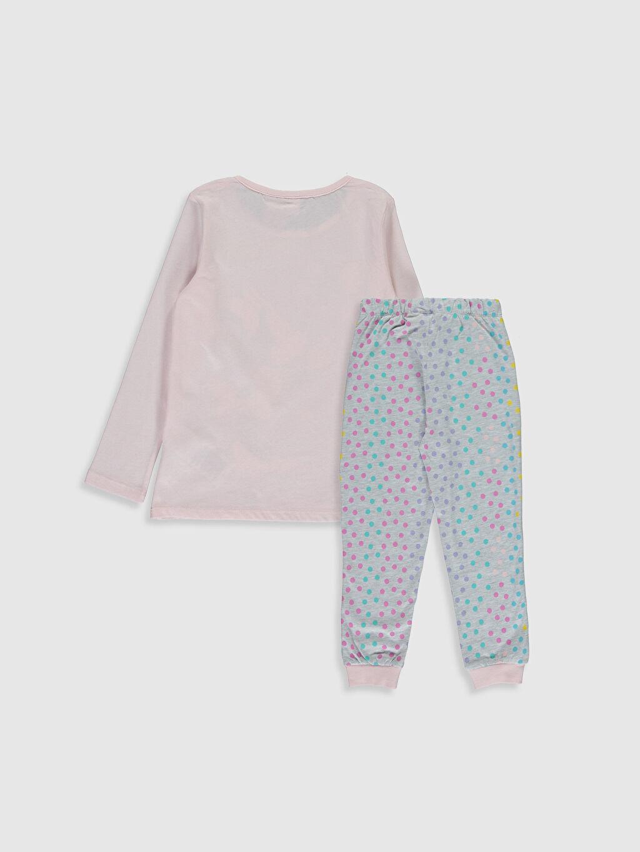 %100 Pamuk Standart Pijamalar Kız Çocuk Minnie Mouse Baskılı Pamuklu Pijama Takımı