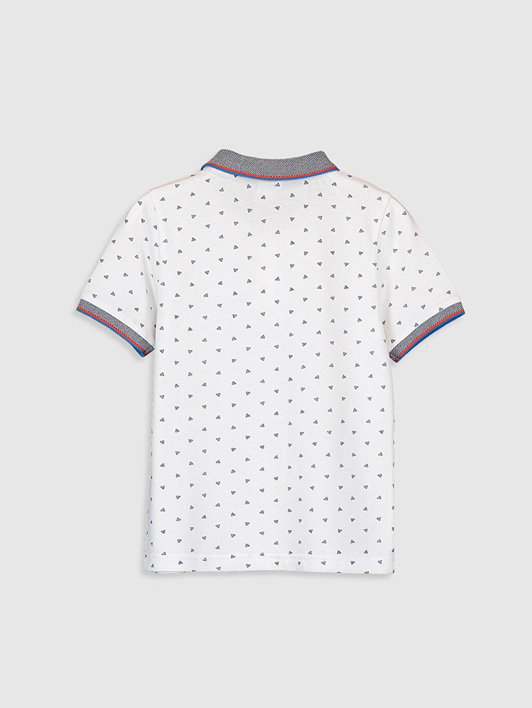 %100 Pamuk Baskılı Tişört Kısa Kol Normal Polo 23 Nisan Erkek Çocuk Baskılı Polo Yaka Tişört