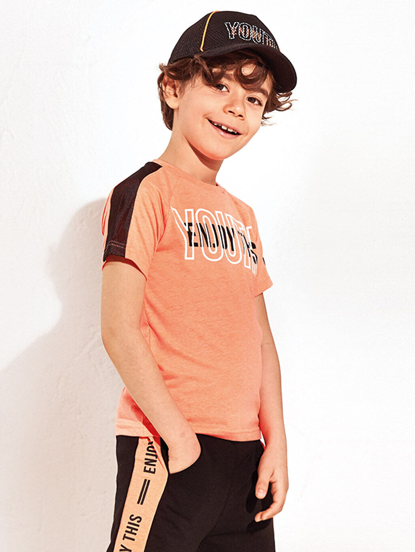 Erkek Çocuk Erkek Çocuk Baskılı Tişört