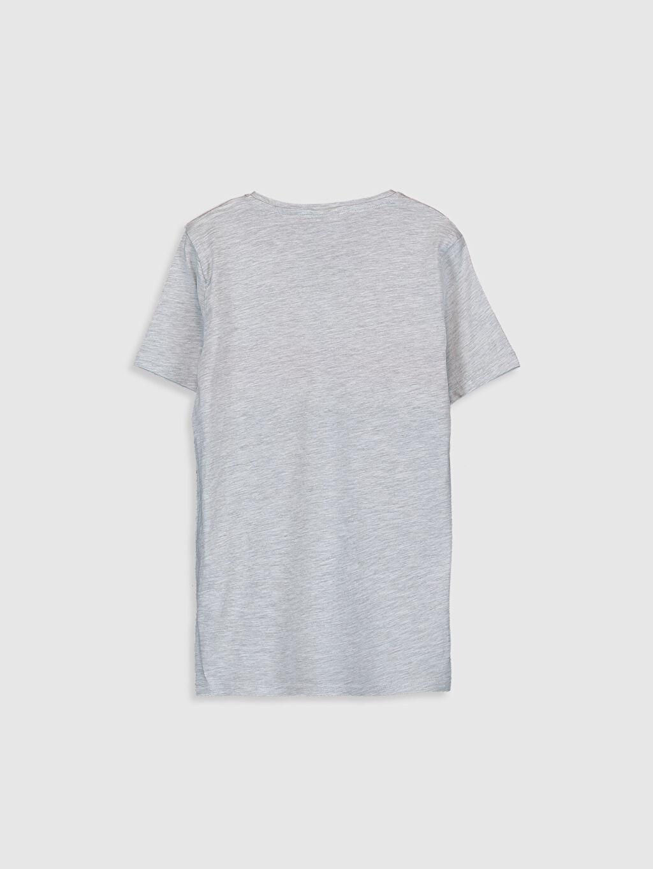 %99 Pamuk %1 Polyester Çizgili Normal Tişört Diğer Kısa Kol Erkek Çocuk Çizgili Basic Tişört