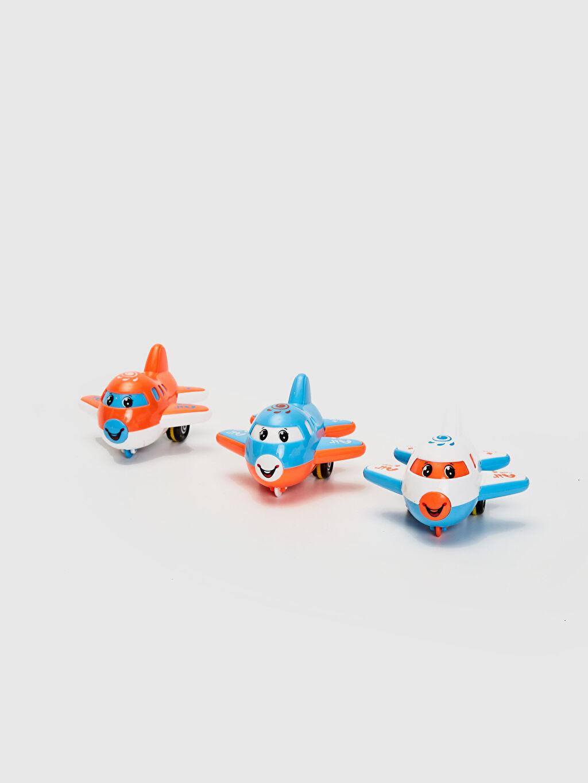 Plastik  Sevimli Uçaklar Set