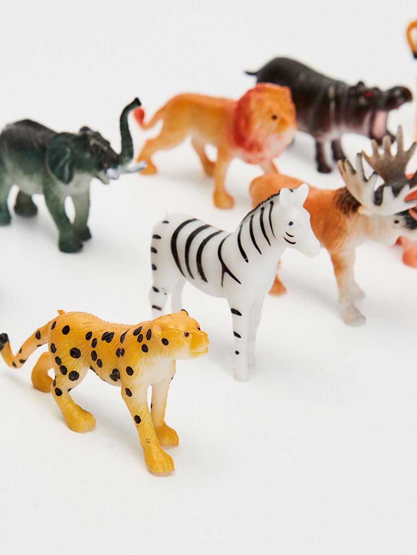 Plastik  Oyuncak Vahşi Hayvan Seti