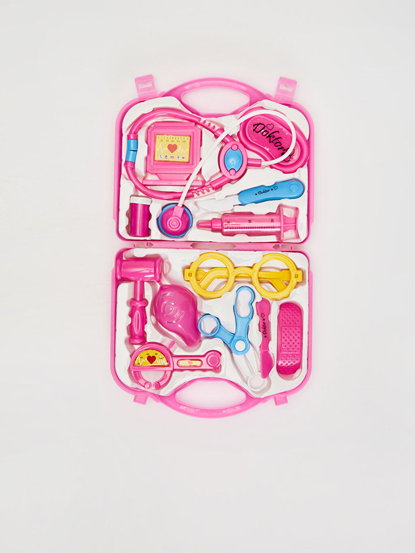 Plastik  Çantalı Oyuncak Doktor Seti