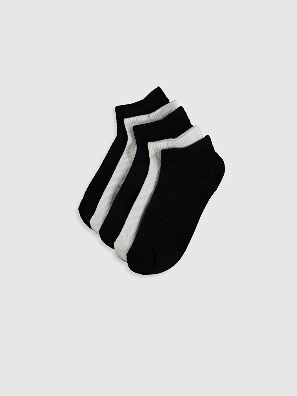 Çok Renkli Erkek Çocuk Patik Çorap 5'li 0S4603Z4 LC Waikiki