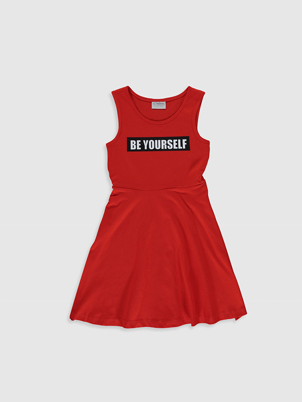 Kız Çocuk Kız Çocuk Elbise ve File Tişört