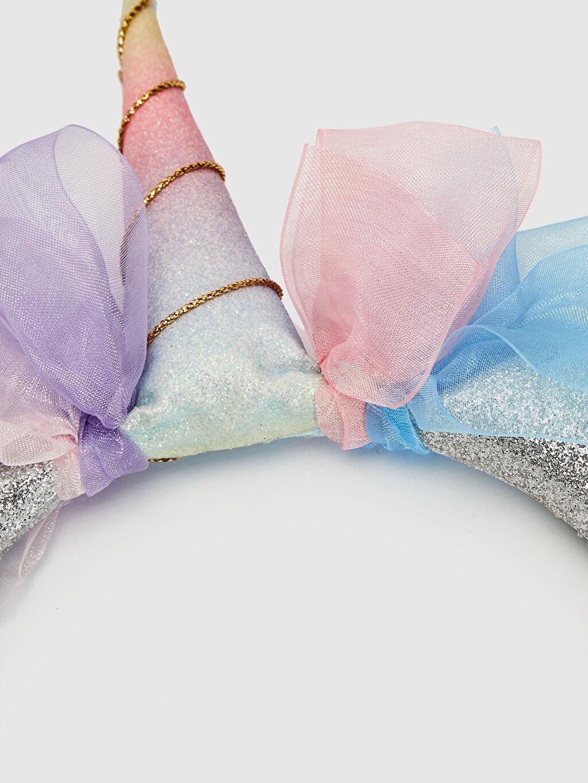 Polyester+Plastik  Kız Çocuk Unicorn Taç