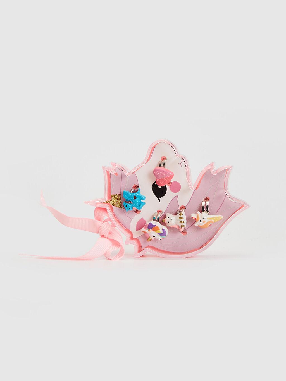 Çok Renkli Kız Çocuk Unicorn Yüzük Seti 0S5802Z4 LC Waikiki
