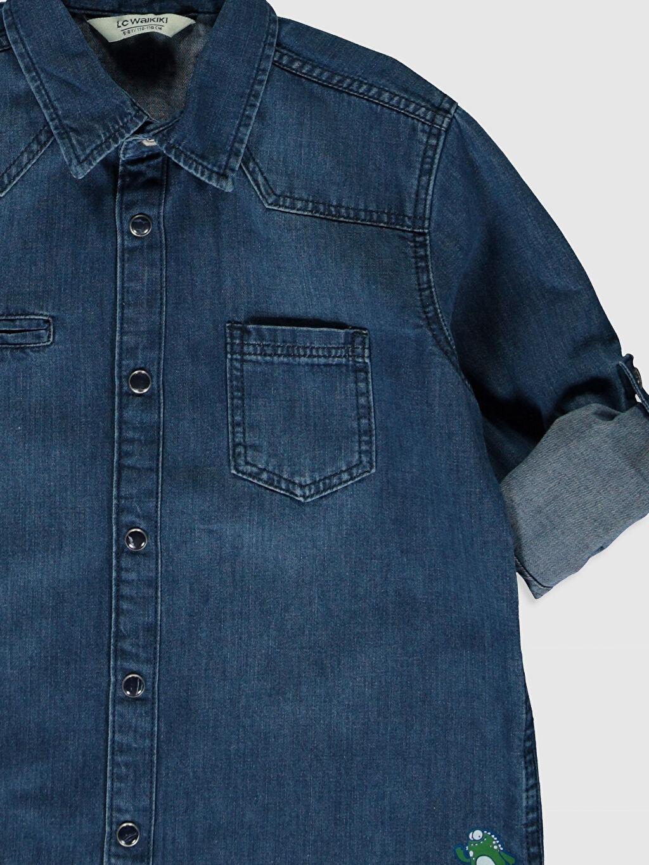 Erkek Çocuk Erkek Çocuk Jean Gömlek