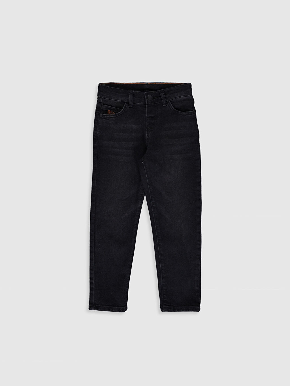 Antrasit Erkek Çocuk Slim Jean Pantolon 0S5973Z4 LC Waikiki