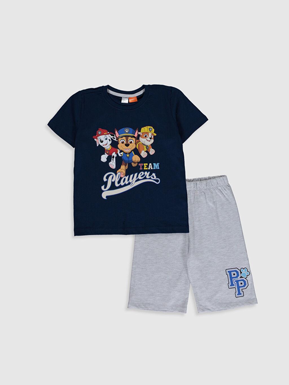 Gri Erkek Çocuk Paw Patrol Pijama Takımı 0S6043Z4 LC Waikiki