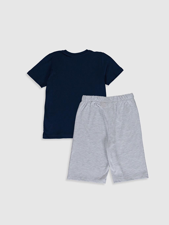 %48 Pamuk %52 Polyester Standart Pijamalar Erkek Çocuk Paw Patrol Pijama Takımı
