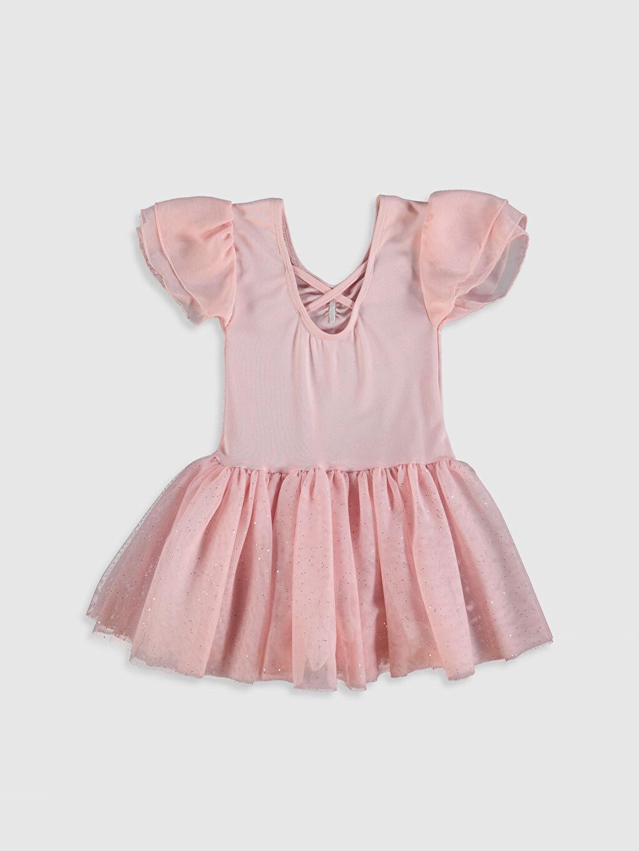 Pembe Kız Çocuk Tütü Elbise 0S6210Z4 LC Waikiki