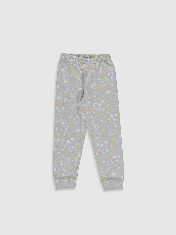 %100 Pamuk Kız Çocuk Elsa Baskılı Pamuklu Pijama Takımı