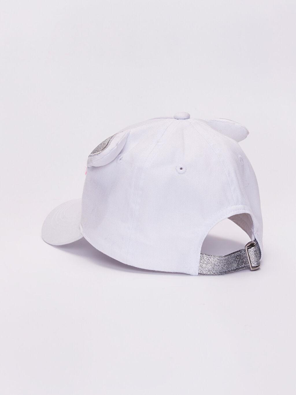 Kız Çocuk Kız Çocuk İşlemeli Şapka