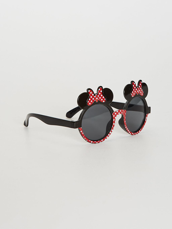 Plastik  Kız Çocuk Minnie Mouse Lisanslı Güneş Gözlüğü