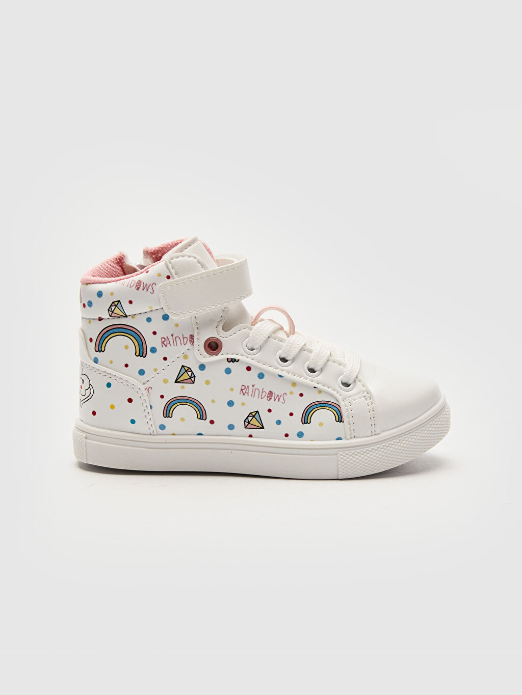 Beyaz Kız Çocuk Sneaker Bot 0S6631Z4 LC Waikiki