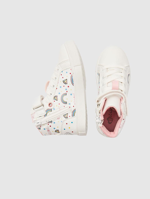%0 Diğer malzeme (pvc)  Kız Çocuk Sneaker Bot