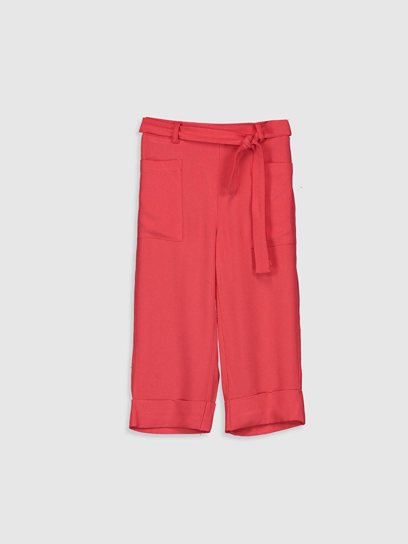 Kırmızı Kız Çocuk Viskon Capri 0S6681Z4 LC Waikiki