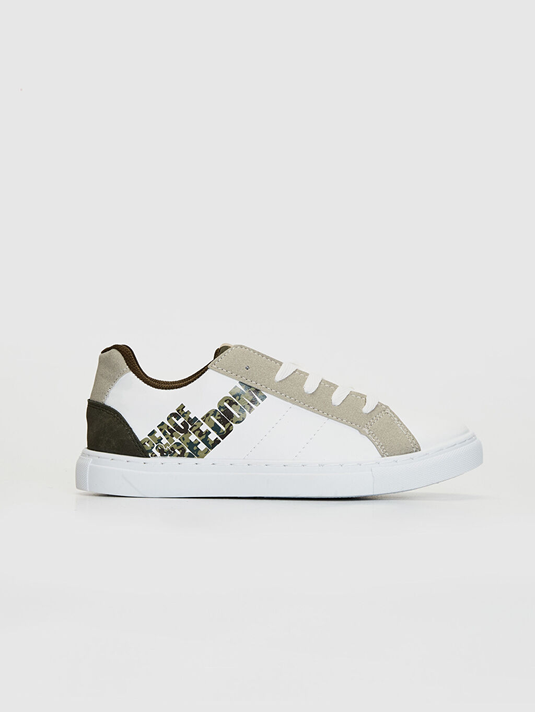 Beyaz Erkek Çocuk Sneaker 0S6719Z4 LC Waikiki