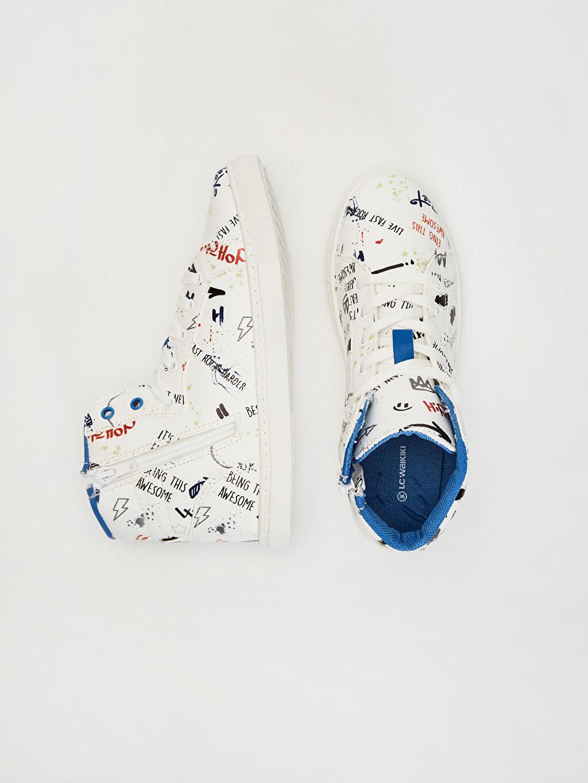 Diğer malzeme (pvc) Tekstil malzemeleri  Erkek Çocuk Baskılı Günlük Bilekli Ayakkabı
