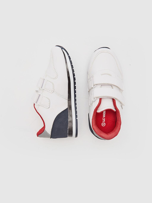 Diğer malzeme (pvc)  Erkek Çocuk Cırt Cırtlı Spor Ayakkabı