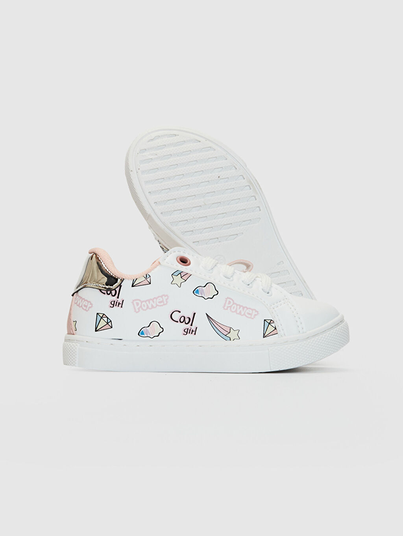 Kız Çocuk Kız Çocuk Fermuarlı Günlük Spor Ayakkabı