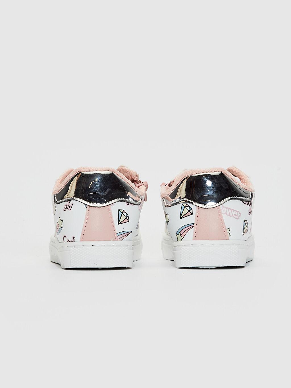 Kız Çocuk Fermuarlı Günlük Spor Ayakkabı