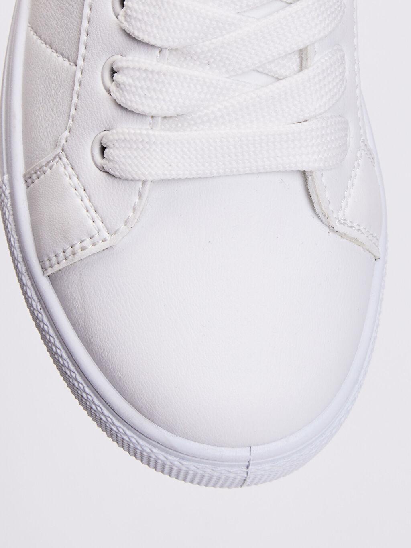 LC Waikiki Beyaz Erkek Çocuk 31-38 Numara Sneaker